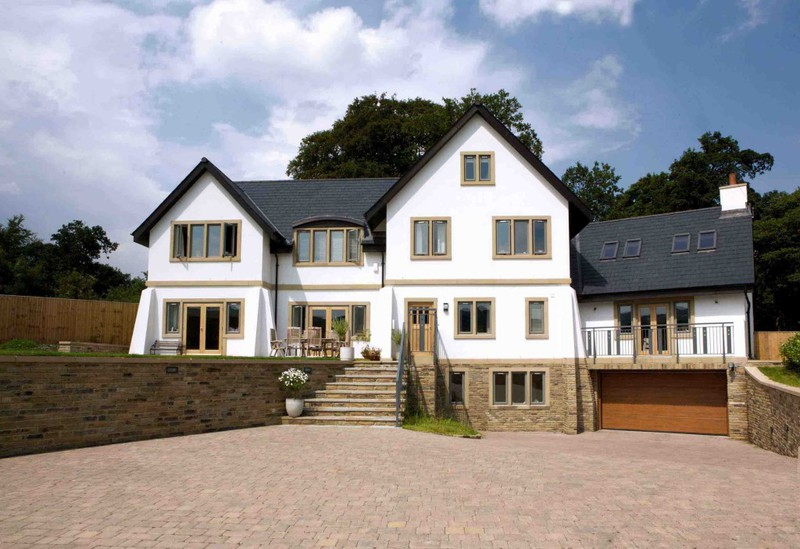 Sense of space arts and crafts style family home for Arts and crafts style house plans
